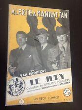 Alerte à Manhattan Steeman Jury 3 Récit complet Roman policier BE