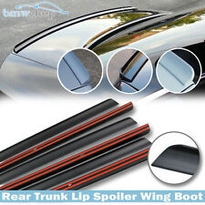 PUF Rear Trunk Lip Spoiler For Honda Civic 7th LX GX EX Sedan 01-05 Unpaint