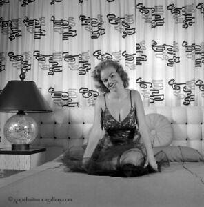 Bunny Yeager Estate Pin-up Camera Negative 1958 Playmate Model Myrna Weber Hot!