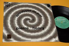 PIERRE HENRY LP APOCALYPSE DE JEAN VOL III ORIG EX AVANTGARDE SPERIMENTAL LAMINA