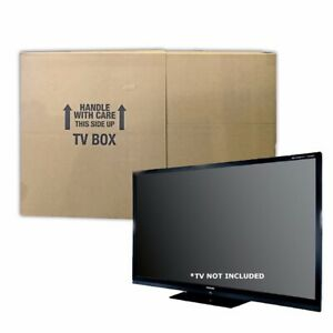 """UBoxes TV Moving Box Fits Up to 70"""" (2 Pack)"""