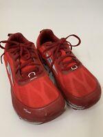 ALTRA Men's Gaiter Trap Zero Drop Red Running Shoes size 8.5