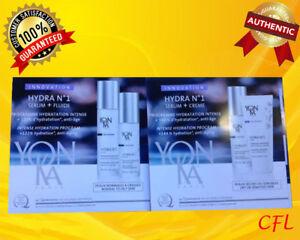 YONKA Hydra No1 Serum + Fluide samples - 2 packs
