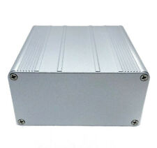 Silver Aluminum PCB instrument Box Enclosure DIY 3.94
