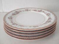5 NORITAKE CRENSHAW VINTAGE LUNCHEON OR SALAD PLATES