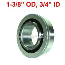 "FLANGE BEARING, SEALED 1-3/8"" OD, 3/4"" ID, GO KARTS, IH-384881, LAWNMOWERS"