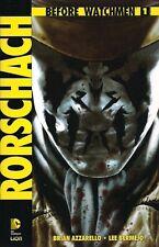 BEFORE WATCHMEN: RORSCHACH VOLUME 1 DI 4 EDIZIONE LION