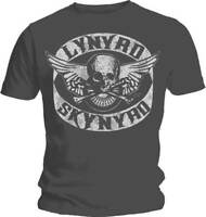 LYNYRD SKYNYRD Biker Patch T Shirt  OFFICIAL Medium