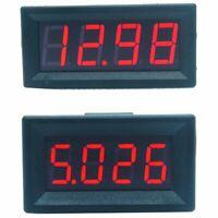 Mini Digital LED Display 4 Bits 0-100V Voltmeter Panel Volt Voltage Meter T Z9C8