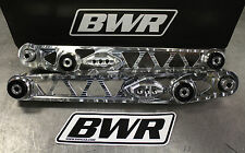 Blackworks BWR Race Rear Lower Control Arms LCA 96-00 Honda Civic EK POLISHED