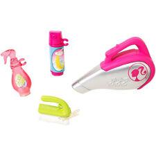 Accessorio Barbie-Set di pulizia MATTEL cfb57 autentico apposta la marcatura CE 3 ANNI + NUOVO