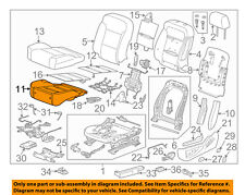 GM OEM Passenger Seat-Foam Cushion Pad 22943726