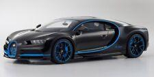 2017 Bugatti Chiron 42 Edition Black/Blue LE 300 1:12 Kyosho MIB