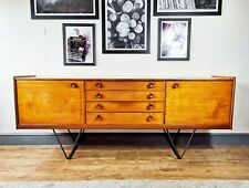 Mid Century Teak sideboard by James Herbert A. younger V shape hairpin legs