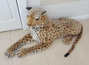 Tiger Plush Life Size Large Lying Stuffed Animal 170cm Length Kids Toy