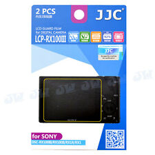 JJC LCD Screen Protect Sheet for Sony RX100 IV RX100 VII RX100III RX100 M5 M6 M7