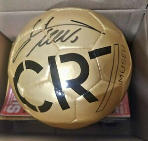 Cristiano Ronaldo Auto Ball D,or Museum With signed COA not Panini,topps.WOW🔥