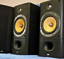B&W Bowers & Wilkins DM602 S3 Main / Stereo Speakers- Sequential Serials- EUC