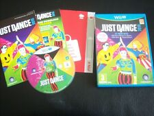 JUST DANCE 2015 NINTENDO WII U BOXED COMPLETE V GOOD CONDITION