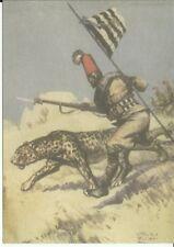 FASCISMO XVII° Battaglione Coloniale Nebrì - Fortis Ferox - Medaglia al V. M.