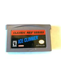 CLASSIC NES SERIES: ICE CLIMBER NINTENDO GAMEBOY ADVANCE SP GBA