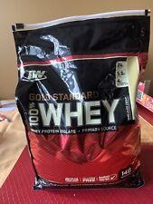Optimum Nutrition Gold Standard Whey Protein Powder - Vanilla Ice Cream, 10Lb