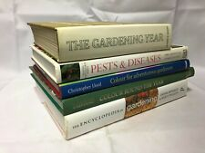 5x Gardening Books Pests & Diseases Colour Round the Year The Gardening Year