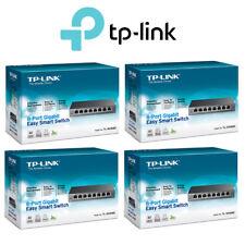 4 Pack Tp-Link 8-Port Gigabit Easy Smart Switch Small Medium Business TL-SG108E