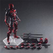 Deadpool Marvel Variant Play Arts Kai Action Figure Toy Doll Statue Display