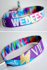 Wedfest Festival Wedding Wristbands Wedding Favours