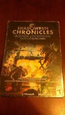Shadowrun Chronicles-Boston Lockdown - PC MAC DVD LINUX - New-Sealed-Free Ship