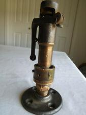 """JE J E Lonegran STEAM relief valve KDP Lift 042 Seat Dia 1/2"""" press 75 cap 183"""