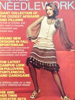 Lady's Circle Needlework Magazine Cozy Afghans Fall 1973 052018nonrh