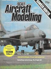 Scale Aircraft Modelling SAM V.2 N.4 Hawker Hunter SAS Vampire Venom RAF 61 Sqd