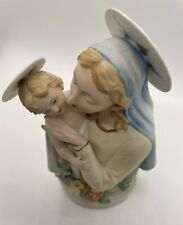Lefton Vintage Madonna #Kw 917 Hand Painted 6.25 inches tall - Beautiful