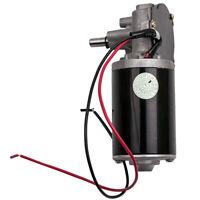 12V//24V//110V//220V Caja De Cambios Velocidad Torque Reversible Motorreductor Adaptador 6RPM-400RPM