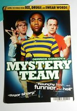 MYSTERY TEAM DERRICK COMEDY'S COVER ART MINI POSTER BACKER CARD (NOT a movie)