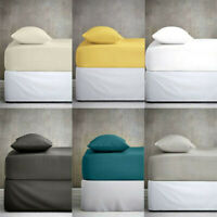 Extra Deep Fitted Sheet Bed Sheets For Bedroom Single Double King Size.