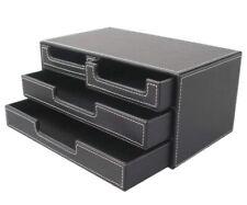 Four Small Drawer Black Box