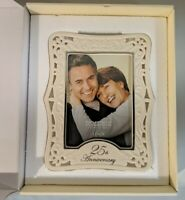"LENOX Portrait Gallery 25th Anniversary 5""x7"" Frame - New Open Box"