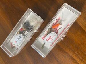 Rare Vintage Mepps Eveready & Miller High Life Spinner Fishing Lures