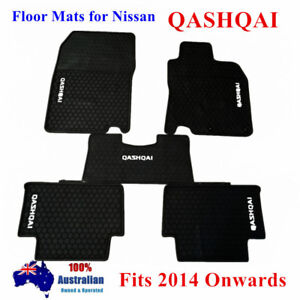 Waterproof Rubber Floor Mats Tailor Made For Nissan Qashqai 2014 - 2021 Current