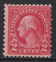 Scott 579- MNH- 2c Washington- 1923 Rotary Issue, Perf 11x10- unused mint stamp