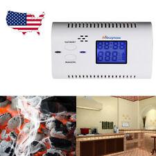 CO Carbon Monoxide Detector Poisoning Gas Warning Co2 LCD Alarm Sensor Tester