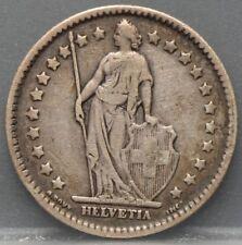 Zwitserland - Switzerland - 1 Franc 1911 - KM# 24 - silver