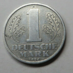 German-Democratic Republic Mark 1956A Aluminum KM#13