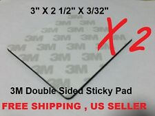 Lot of 2 X 3M Double Sided Adhesive Sticky Pad Free Shipping