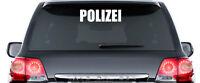 Polizei Aufkleber - ca. 40 cm