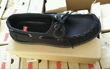 Brand New! LEVIS Branden Low 2 All Black Womens size 8.5 Mens size 6.5 FREE SHIP