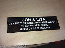 LICENSEE PUB SIGN XMAS STOCKING FILLER BBQ PARTY SECRET SANTA